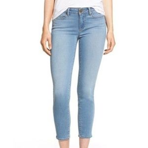 Paige Verdugo Crop Skinny Jeans Lightwash 25
